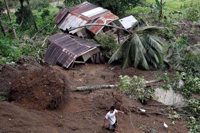 landslide houses