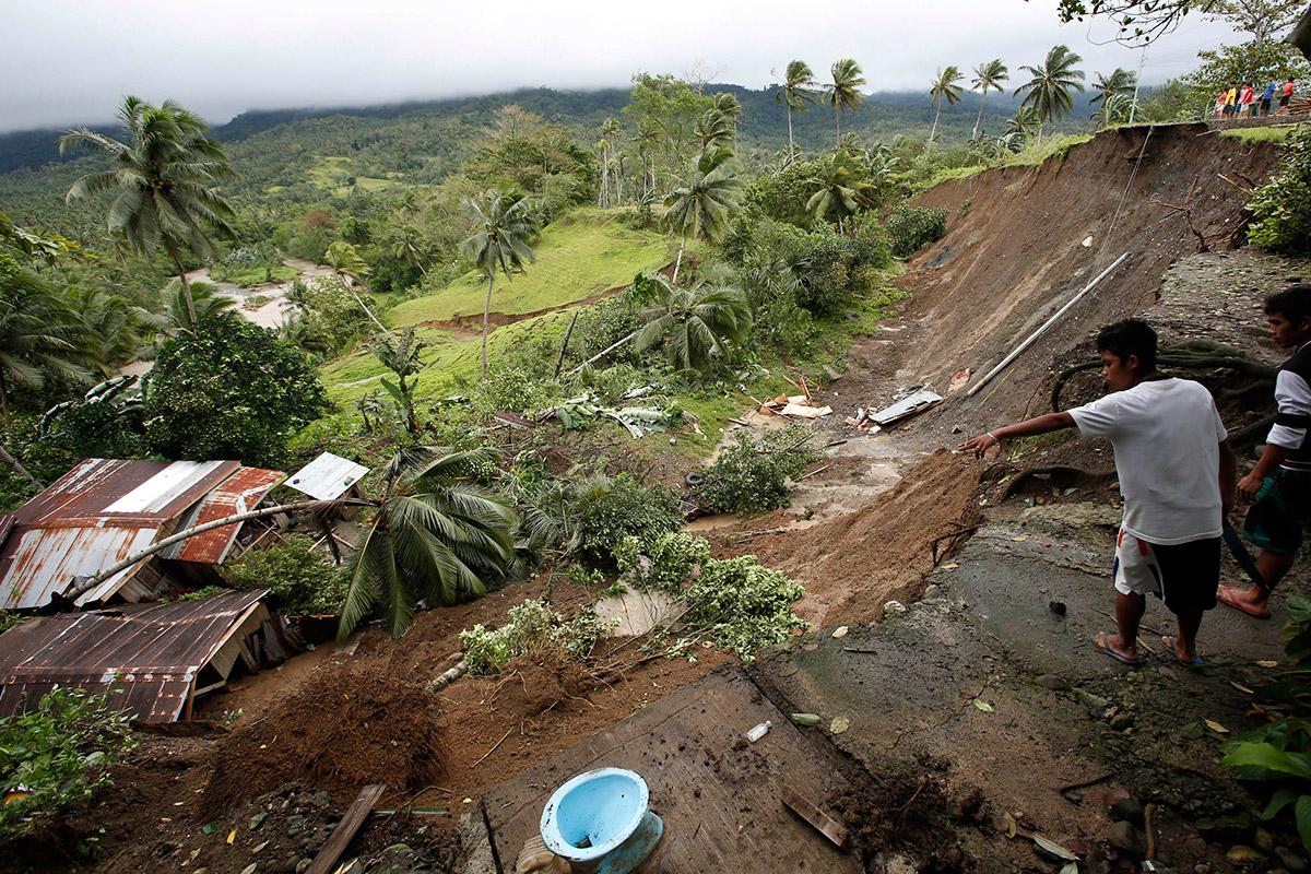 landslide point