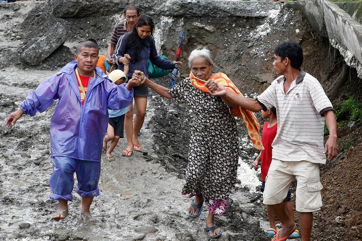 landslide woman