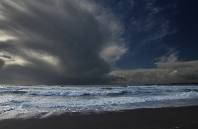 Caroline Leftwick, Tail of the Storm, Long Strand, Ireland