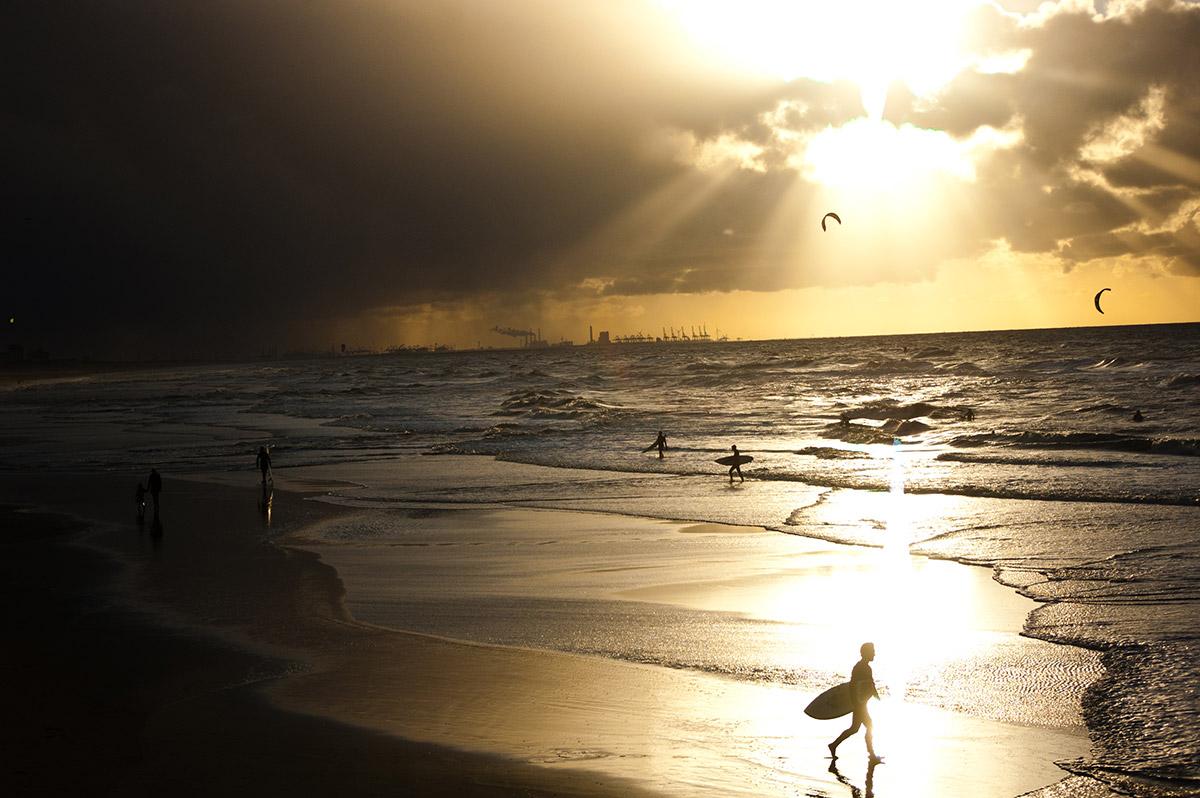 Roger Steyvers, Super Clouds Day, Scheveningen, The Hague