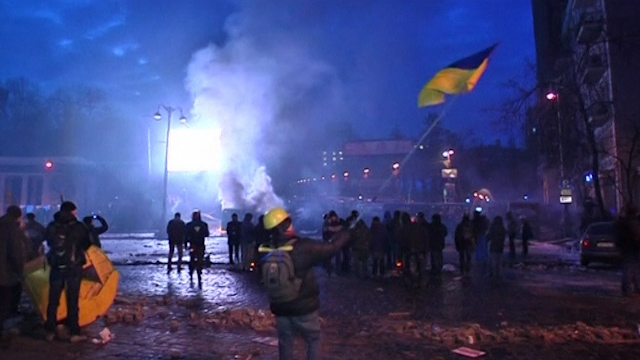 Kiev Tensions High After Night of Clashes