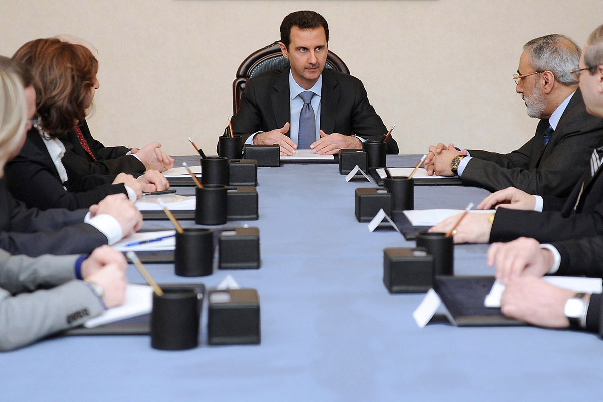 syria peace talks