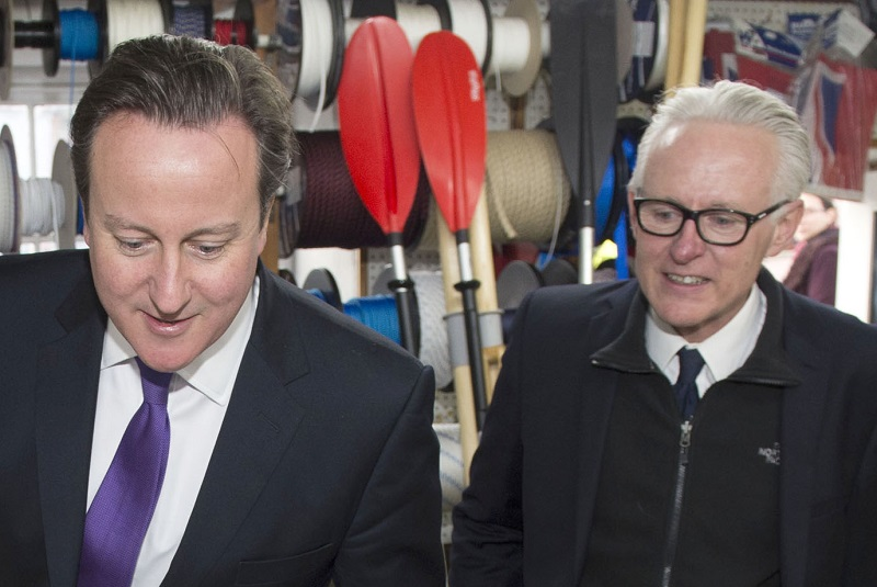 Norman Lamb and David Cameron