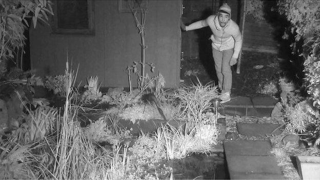 Simon King's Fox Family camera captured suspected burglar in Herne Hill, south London
