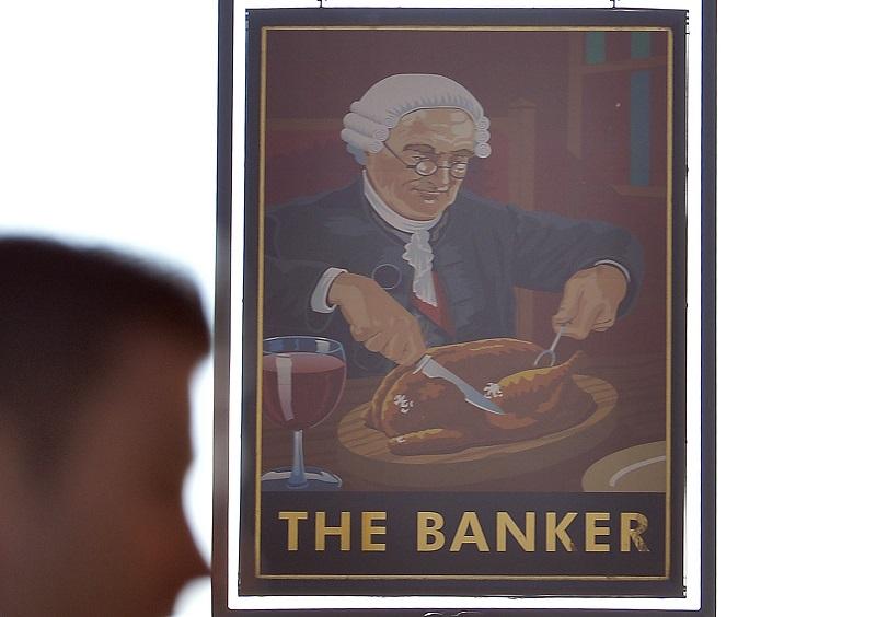Banker Pub Sign