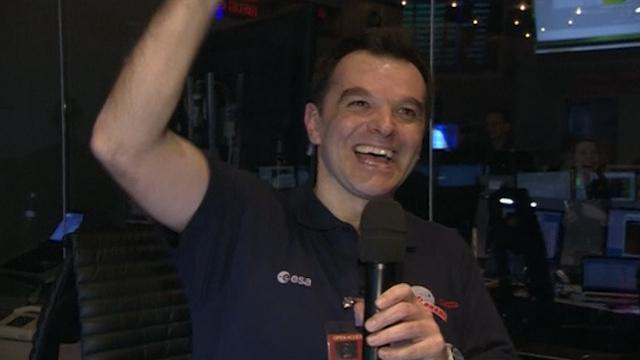 Signal from Rosetta Space Probe Returns to ESA