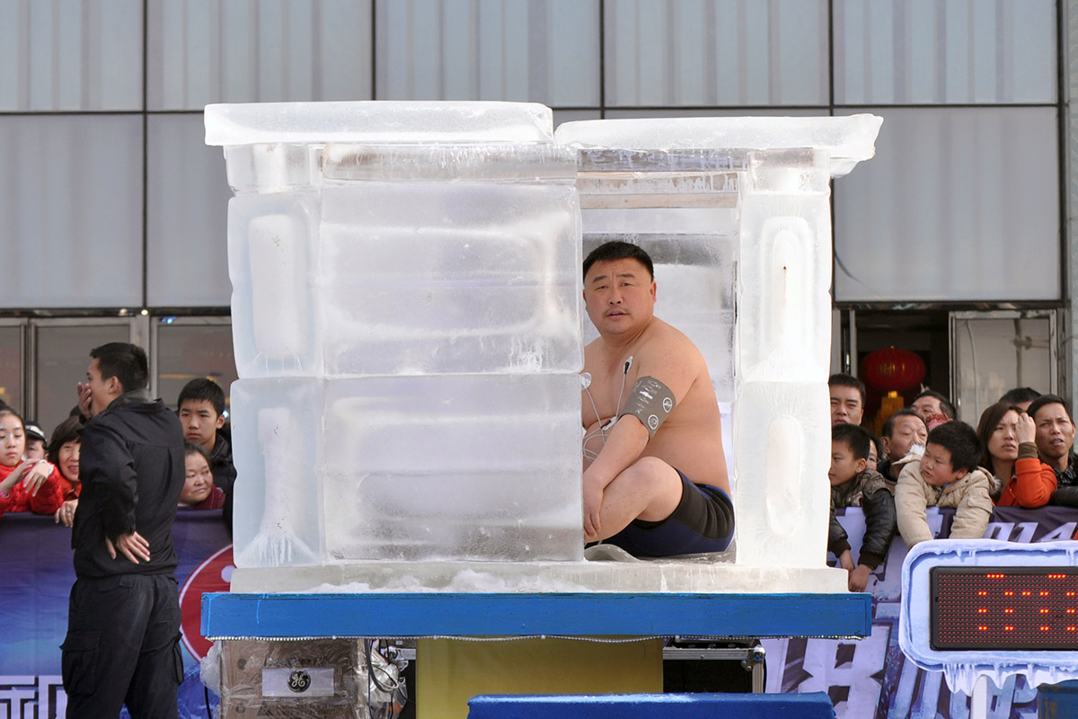 china man in ice