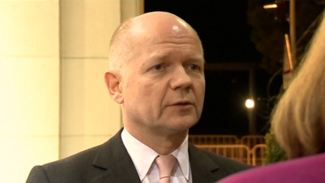 Hague: Wrong to Expect Progress During Syria Talks