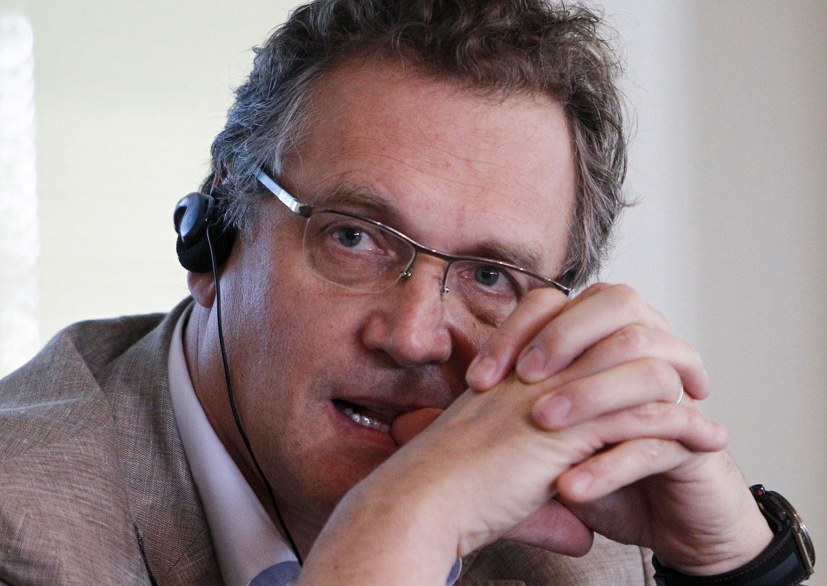 Jerome Valcke of FIFA has warned Brazil World Cup organisers about the Arena da Baixada, in Curitiba