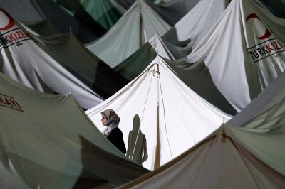 syria tents
