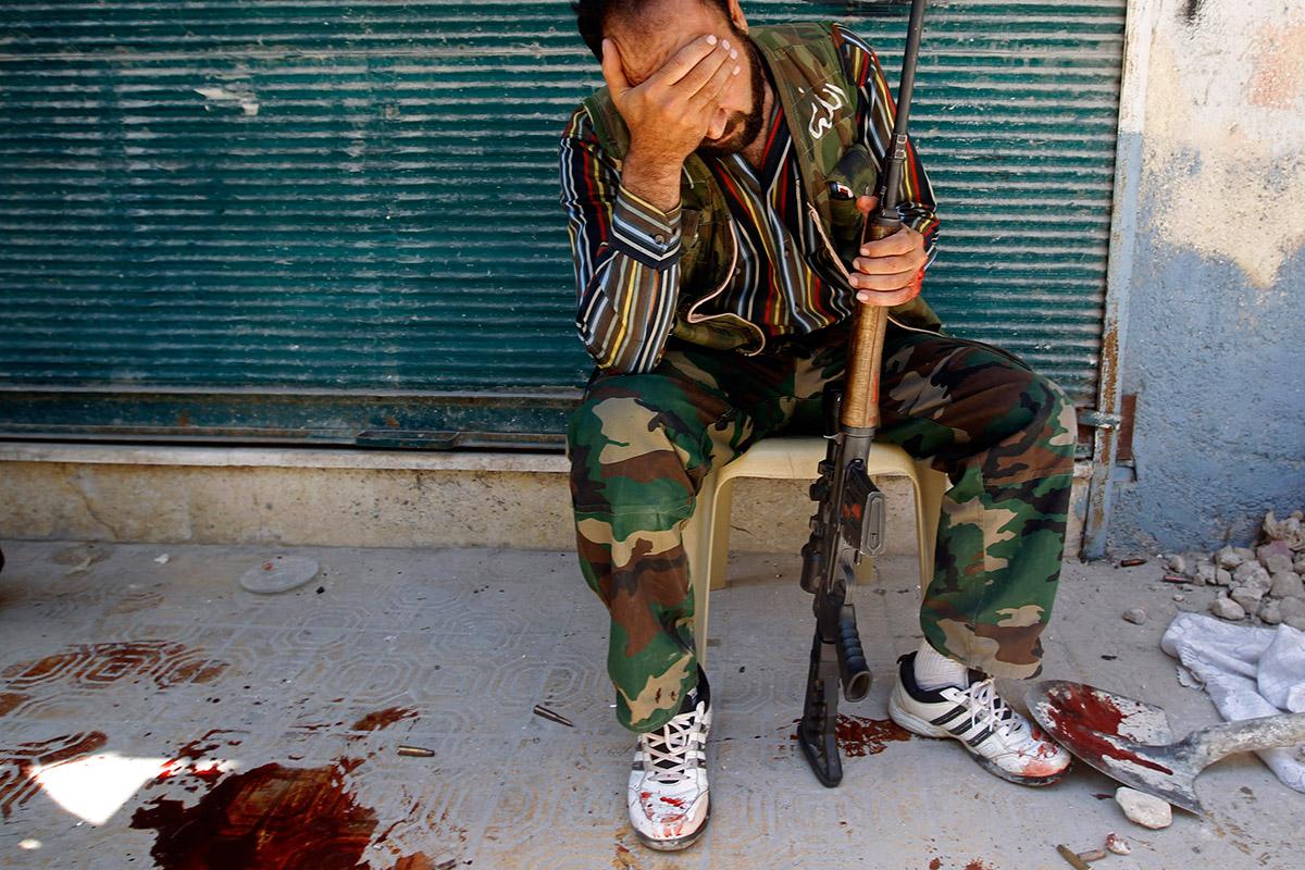 syria friend shot