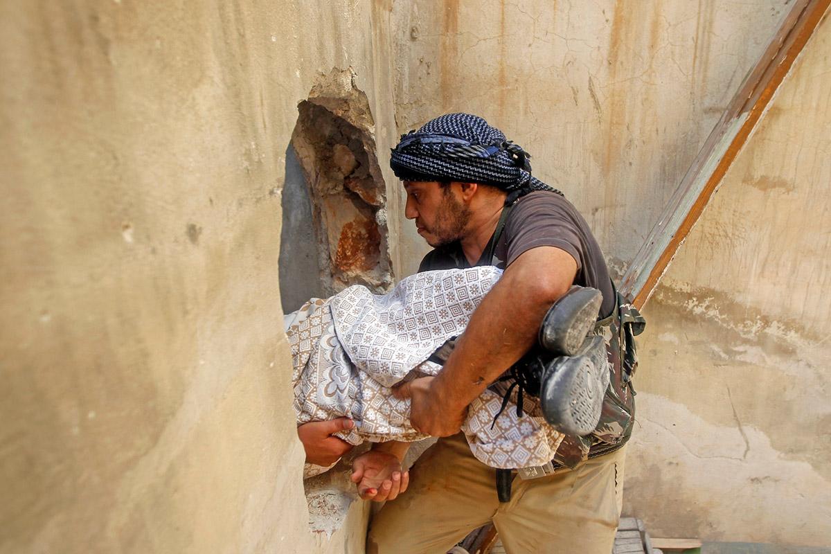 syria body wall