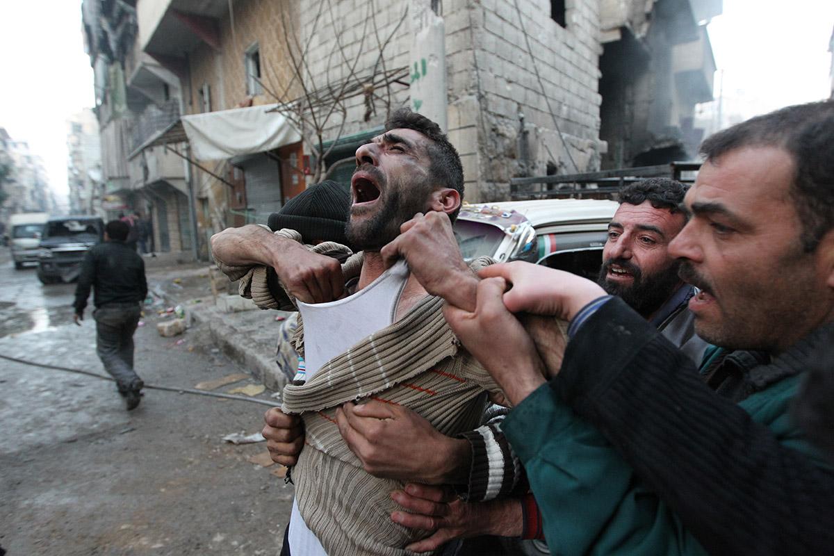 syria father