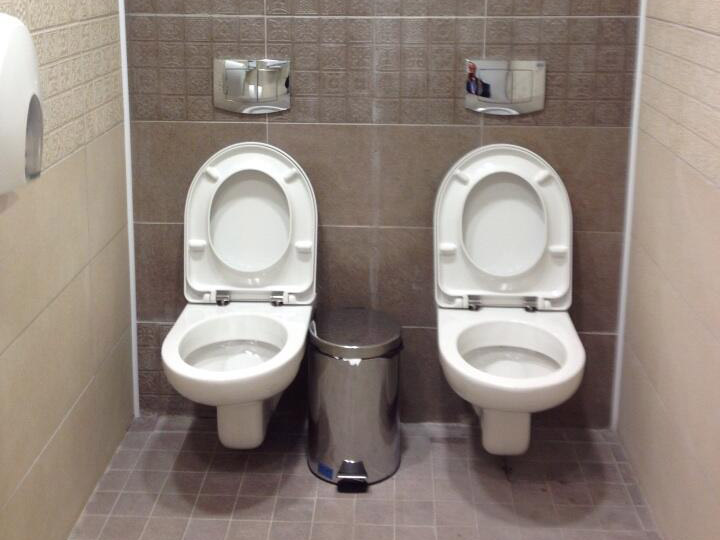 sochi twin toilets