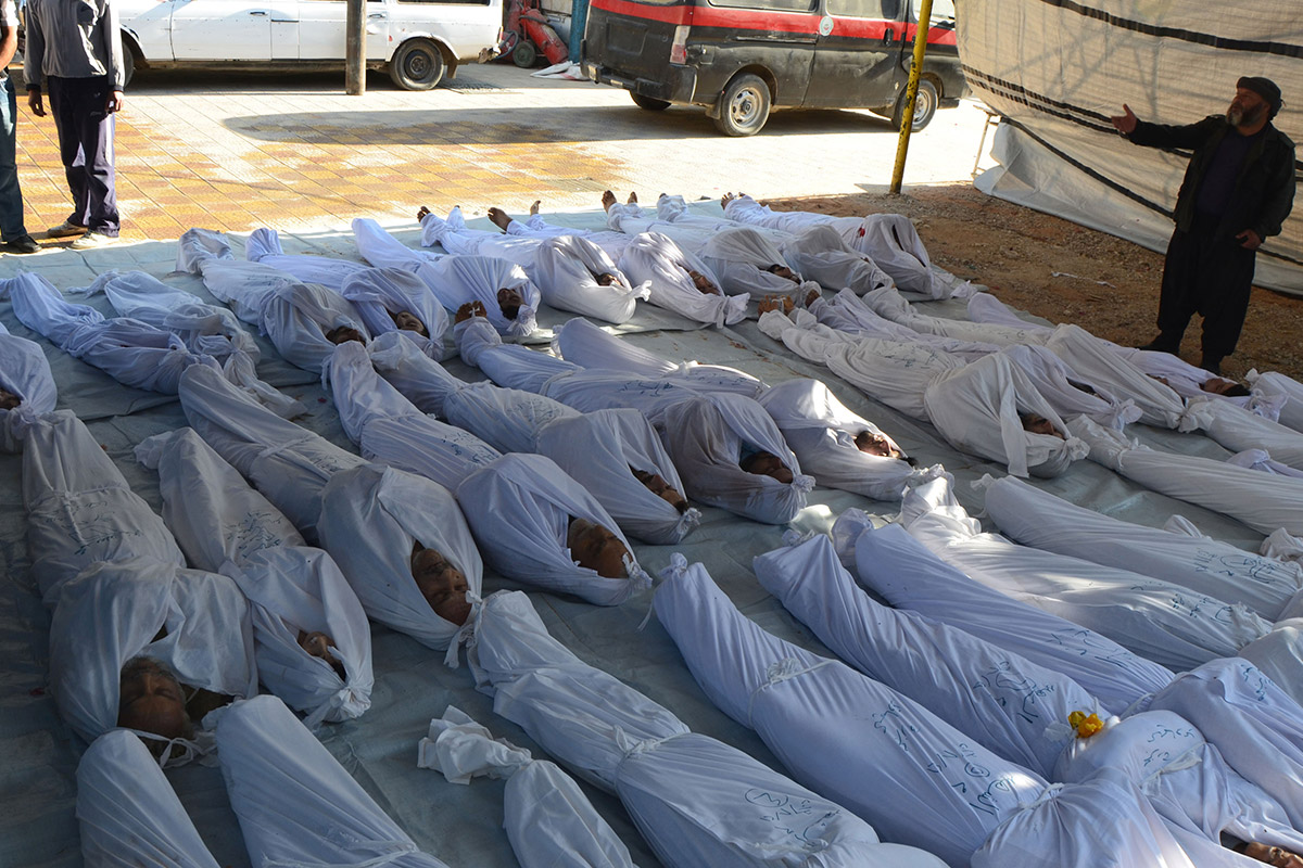 syria gas attacks
