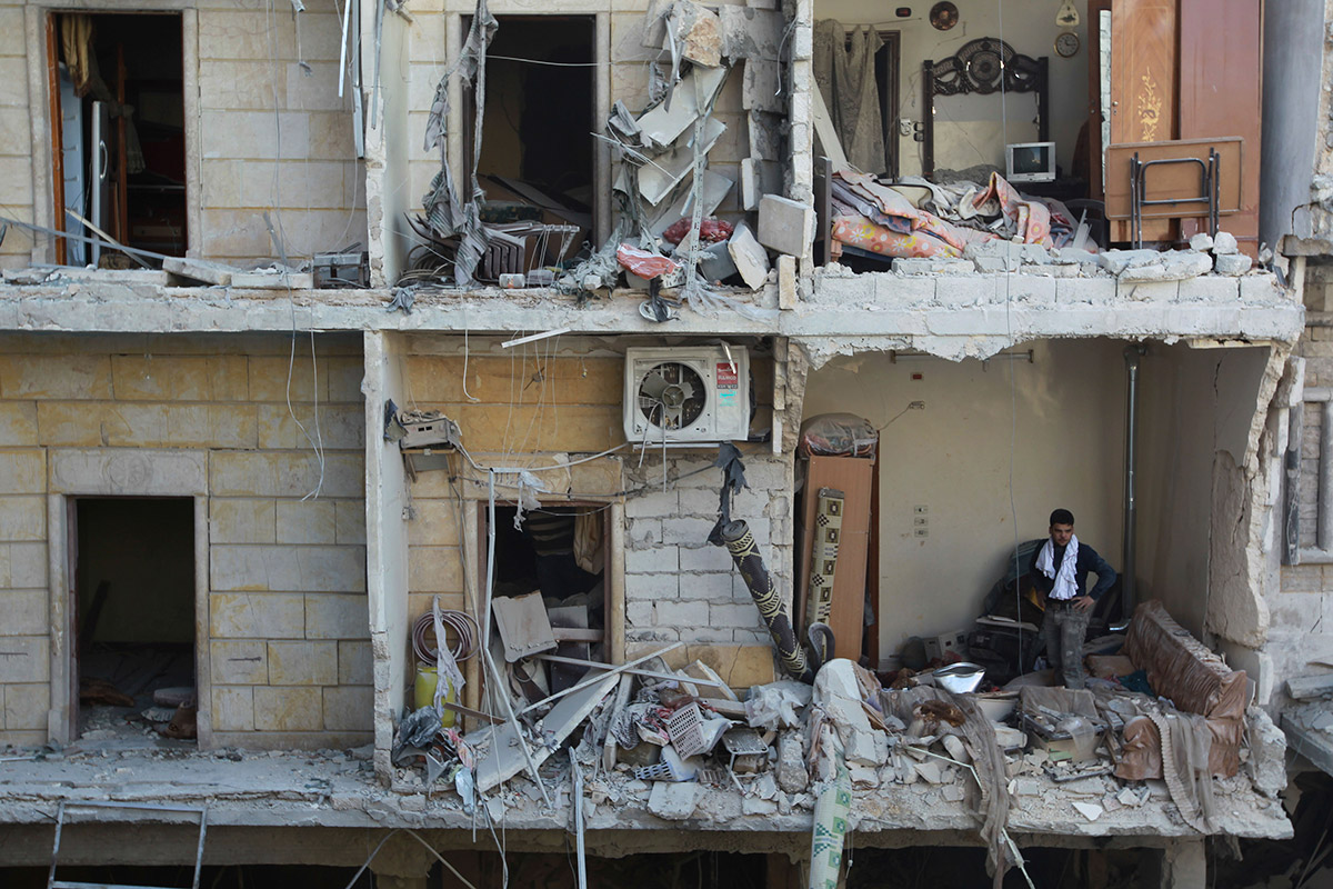 syria building