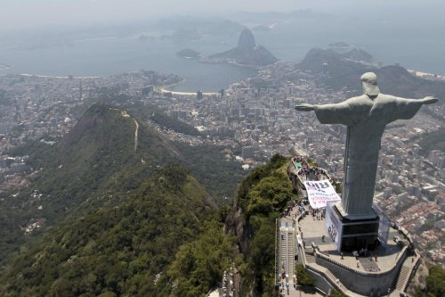 Christ the Redeemer has overlooked the city of Rio de Janeiro in Brazil since 1931