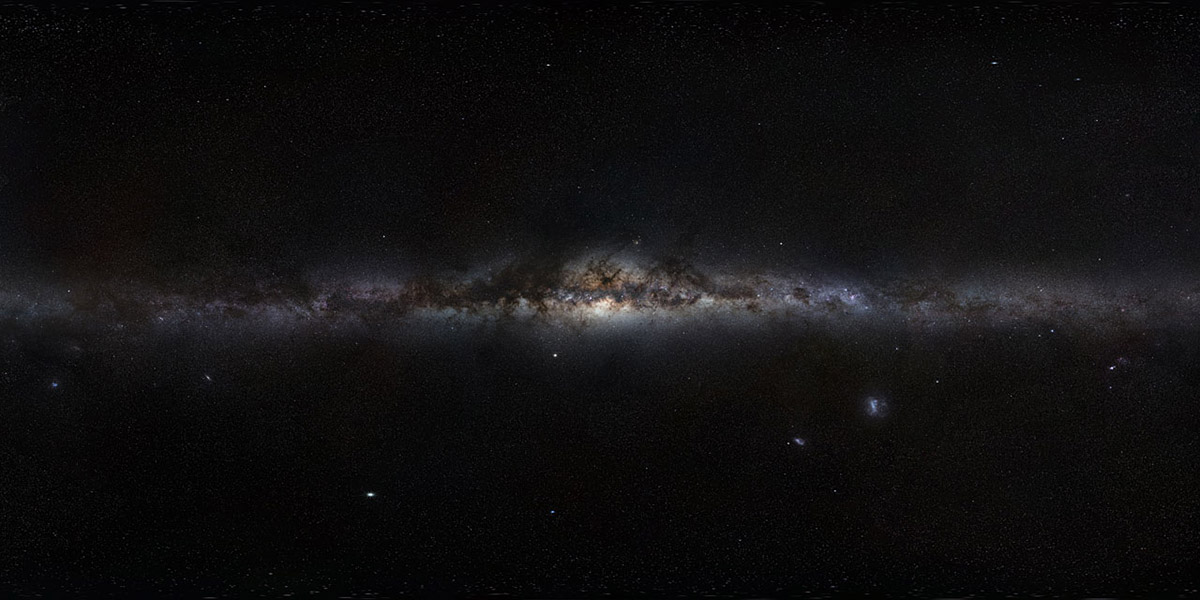 panorama milky way
