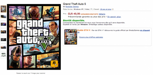 GTA 5: PC Release Imminent as Pre-Orders Go Live on Amazon