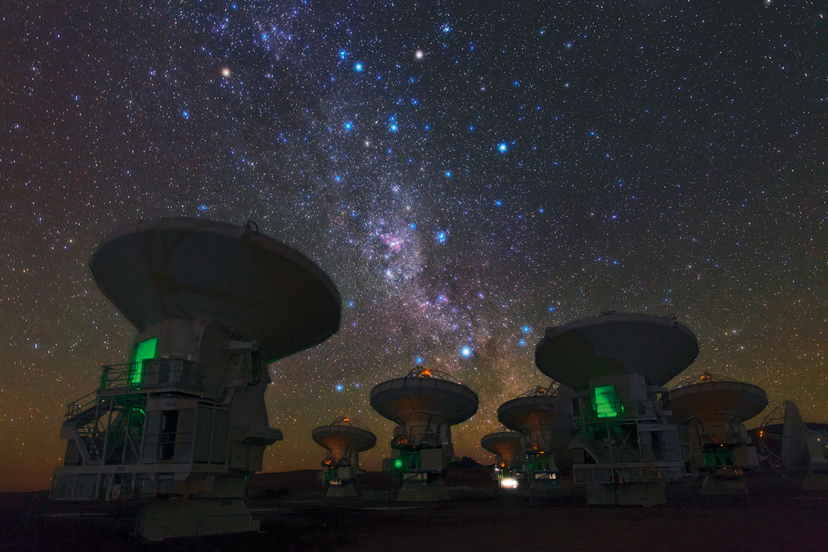 telescopes milky way