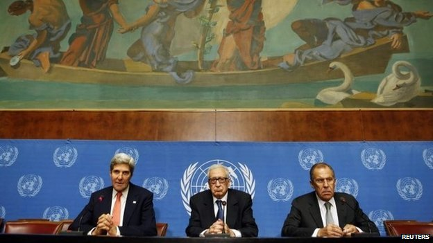Geneva 2 peace conference