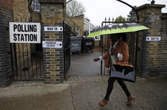 Young People Voting