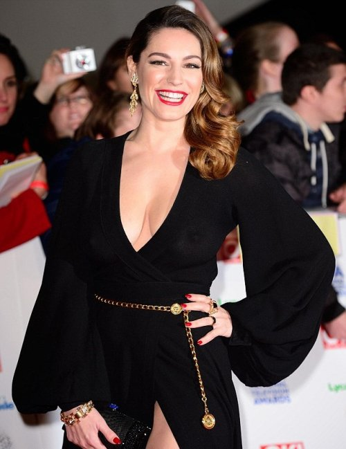 Kelly Brook at NTA's