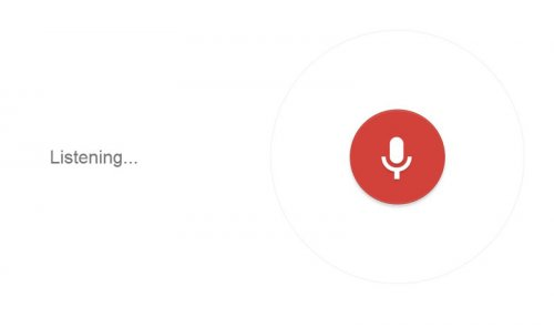 Google Chrome's Speech Recognition feature might be listening to your private conversations