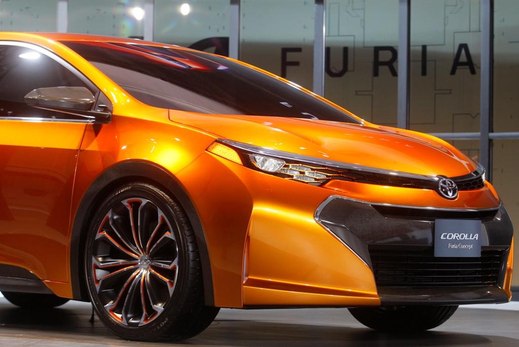 Marvelous Toyota Corolla Furia Concept Car