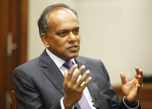 Law Minister F. Shanmugam is facing calls to deport Anton Casey from Singapore for slurring poor people