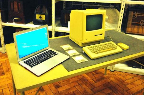Original Apple Mac vs MacBook Air