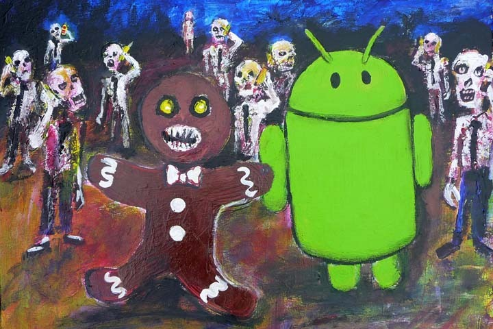 Zombie Androidpocalypse – Android 2.3 (Gingerbread)