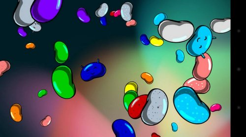 Jelly Bean Mini-Game – Android 4.1.1 (Jelly Bean)