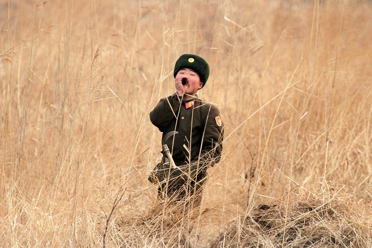north korean soldier