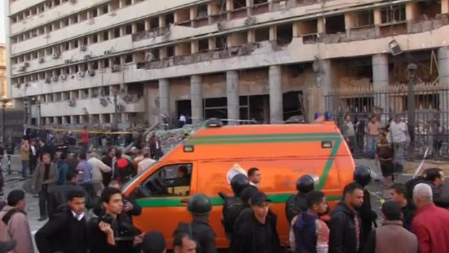 Major Blast at Cairo Police HQ Kills at Least Four