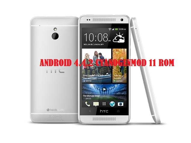 Update HTC One Mini to Android 4.4.2 KitKat via CyanogenMod 11 ROM