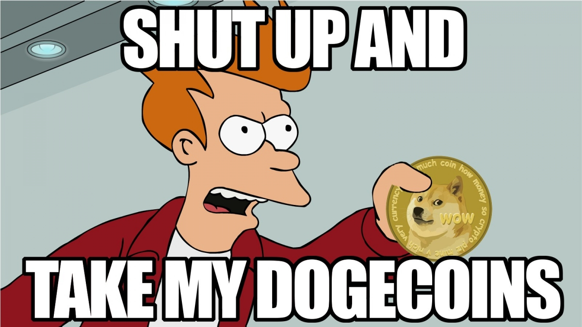 Dogecoin and Futurama