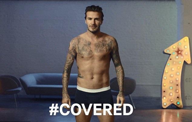 David Beckham Underwear H  M >> Happy Birthday David Beckham: Manchester United and England Legend in his own Cockney Words
