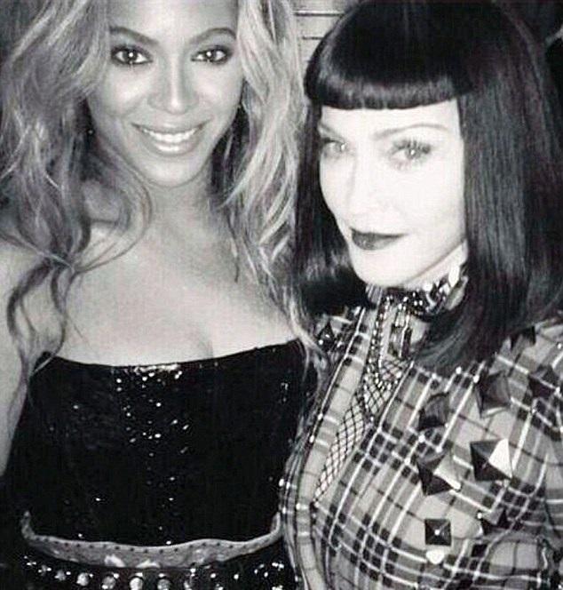 Madonna and Beyonce