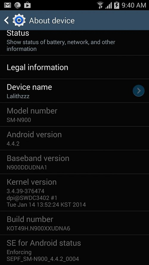 Android 4.4.2 KitKat Released for Galaxy Note 3 SM-N900 and SM-N9005 in More Countries