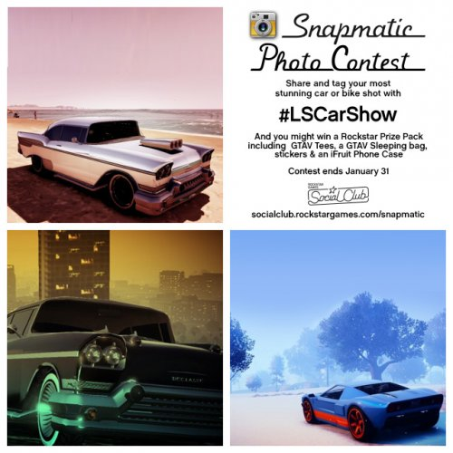 GTA 5 Snapmatic Photo Contest: Snap Pictures of Your