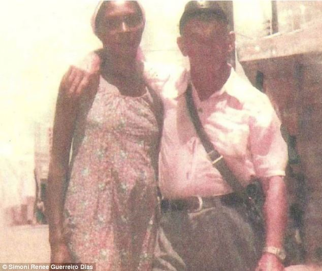 Photo which Simoni Renee Guerreiro Dias claims shows Hitler with his girlfriend Cutinga in the Brazillian village Nossa Senhora do Livramento.