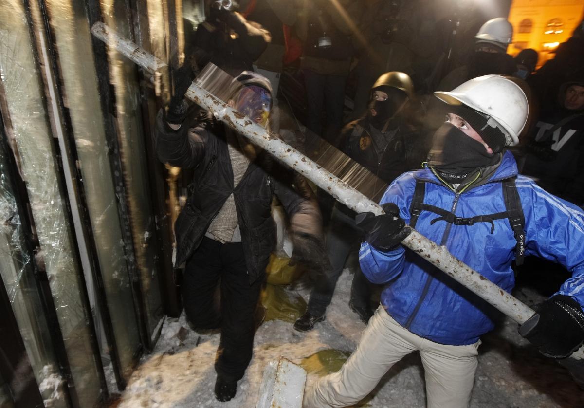 Protests in Kiev, Ukraine