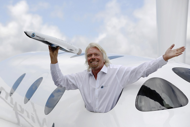 Chinese banned from Virgin's Galactic Flights