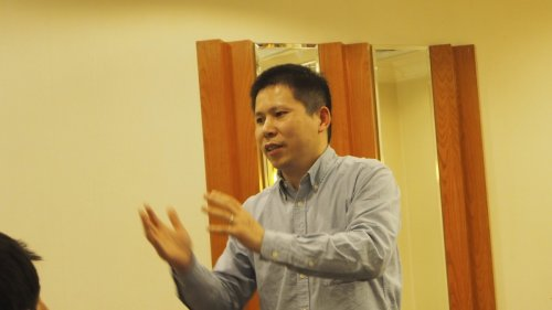 Xu Zhiyong in Beijing in March 2013