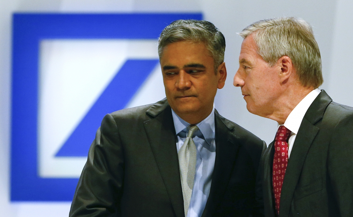 Deutsche Bank's co-CEOs Juergen Fitschen and Anshu Jain are charged with the task to transform the group's reputation and culture.