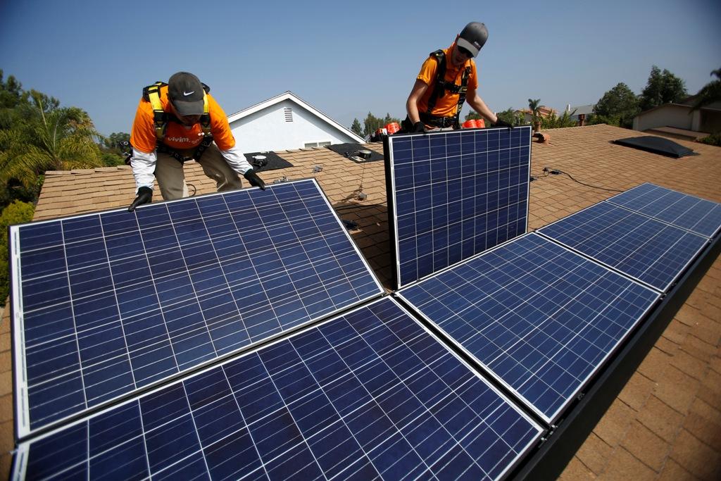 US Rooftop Solar Panels