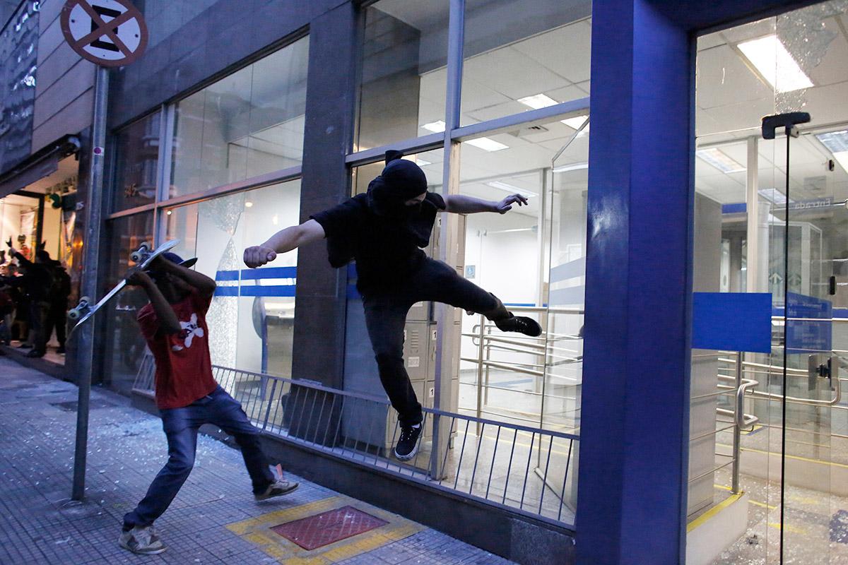 brazil riot