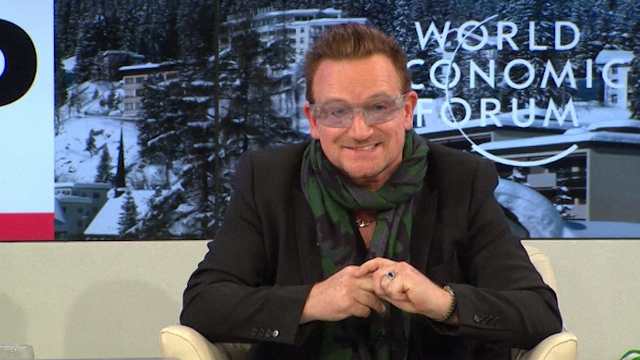 Cameron Asks Bono for Help to Tackle Extreme Poverty